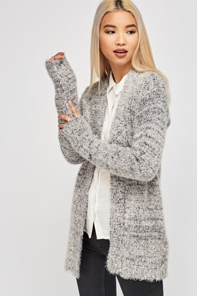 Eyelash Soft Knit Cardigan
