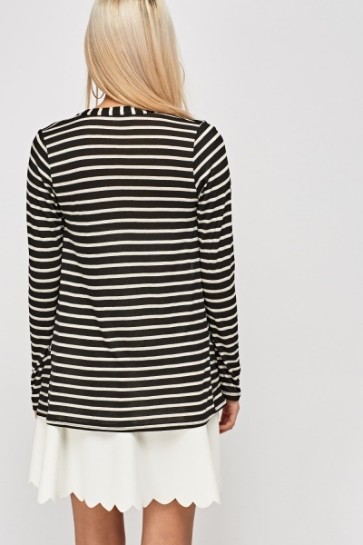 Striped Thin Cardigan