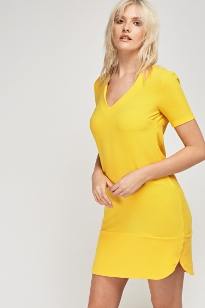 Sunflower Shift Dress