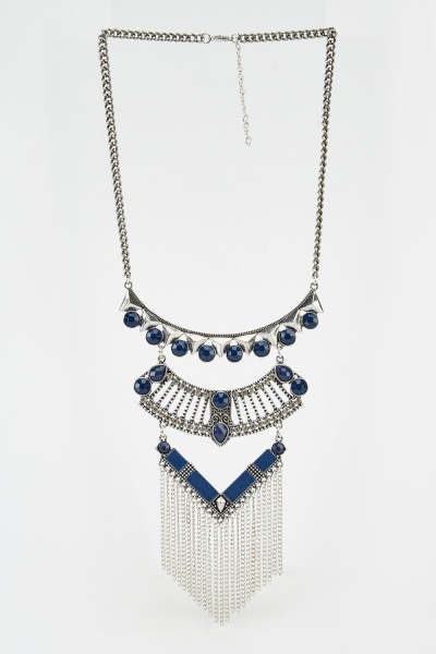 Multi Layered Chained Necklace