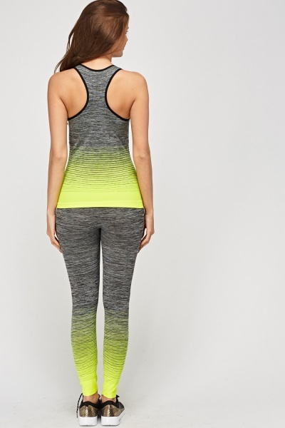 Tank And Leggings Sports Set