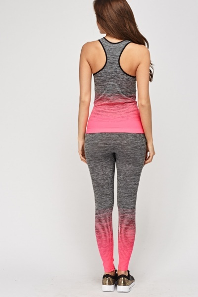 Sports Tank And Leggings Set