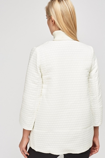 Heart Textured Jacket
