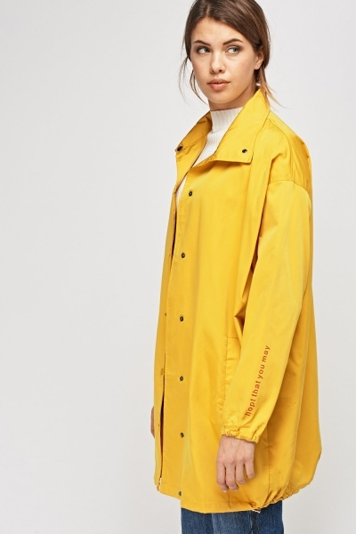 Light Weight Long Jacket