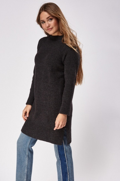 Long Line Casual Jumper