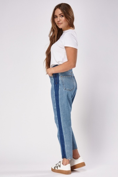 Mixed Denim Jeans