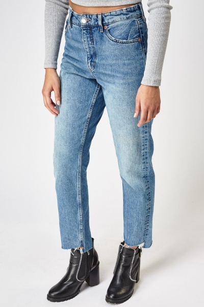 Row Edge Boyfriend Jeans