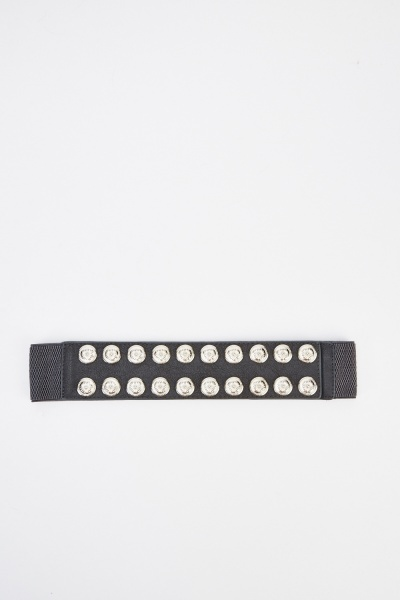 Studded Elastic Belt