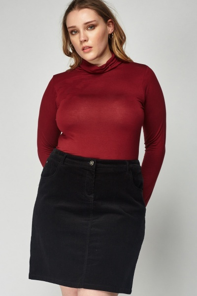Thin Roll Neck Top