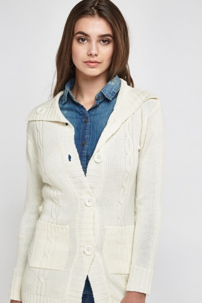 Knitted Robe Cardigan
