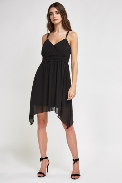 Asymmetric Swing Dress