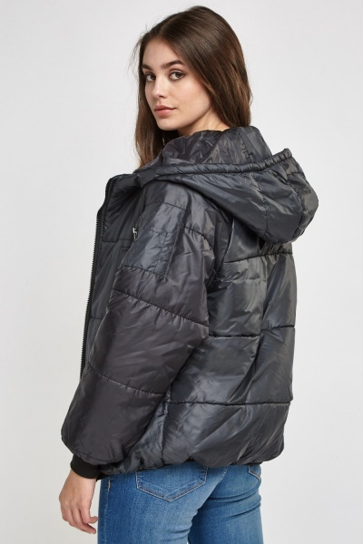 Hooded Puffa Jacket