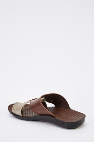 Cross Over Mens Sandals