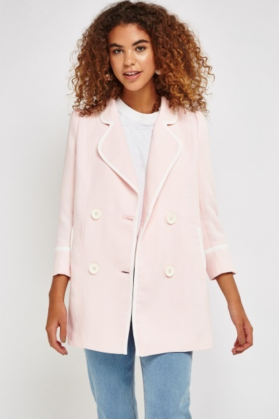 Lapel Front Smart Coat