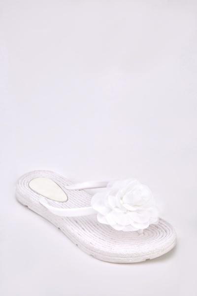 3D Flower Flip Flops