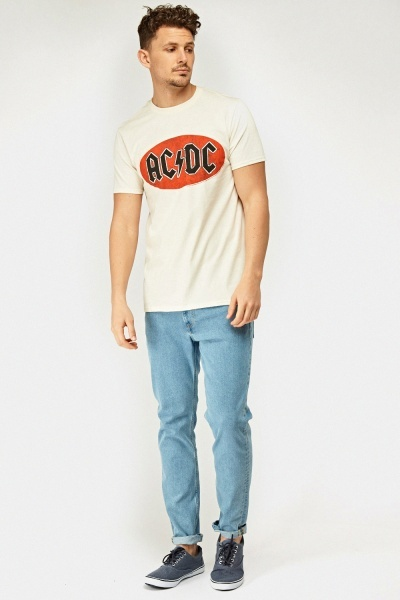 ACDC Logo Front T-Shirt