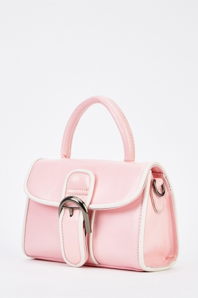 Buckled Front Small Bag