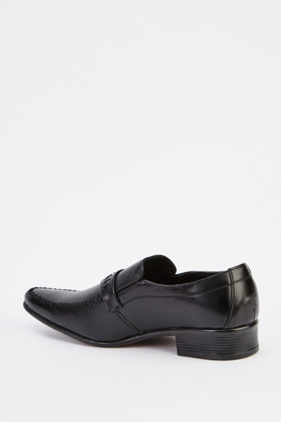 Mens Formal Detailed Front Shoes