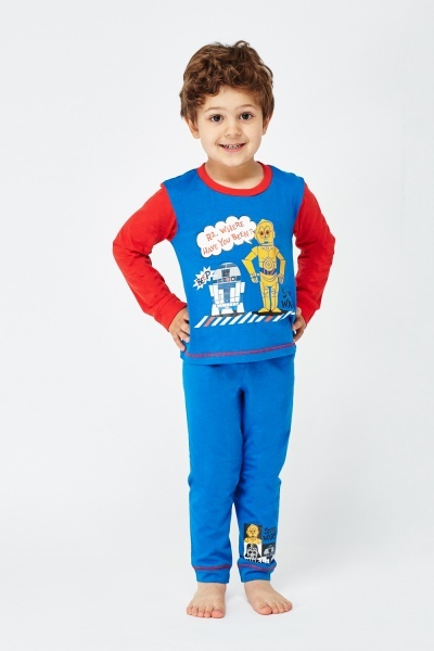 Star Wars Graphic Top And Trousers Pyjama Set