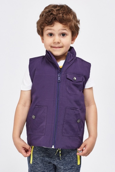 High Neck Zipped Bodywarmer