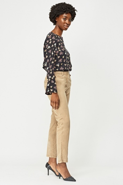 Slim Fit Chino Trousers