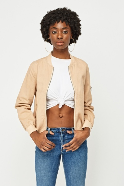 Bad Girl Patch Bomber Jacket