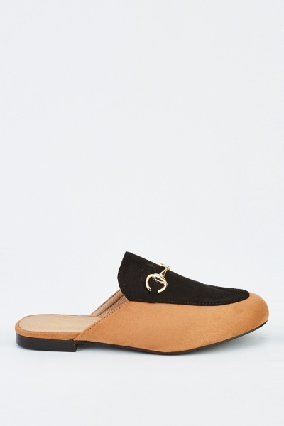 Detail Front Contrast Mules