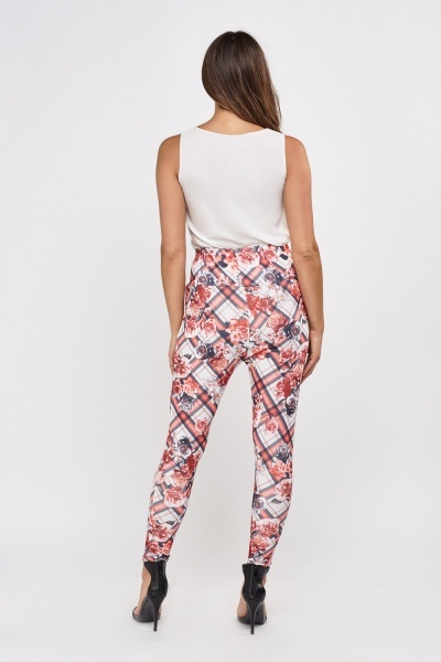 Printed High Waist Leggings