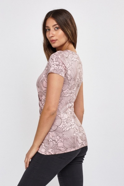 Printed Keyhole Front Top
