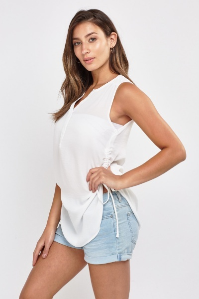 Ruched Side Top