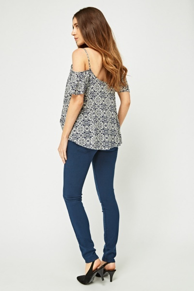Low Rise Skinny Fit Jeans