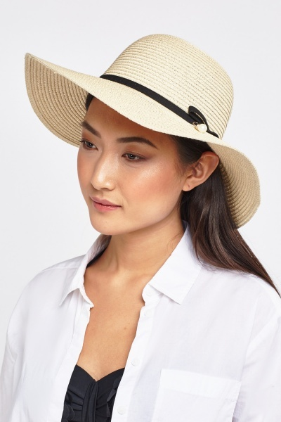 Panama Bow Front Hat
