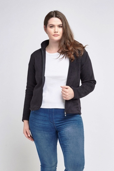 Poly Fleece Zipped Jacket