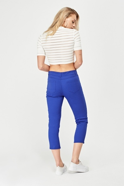 In Extenso Crop Denim Jeans