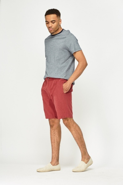 Textured Mens Shorts