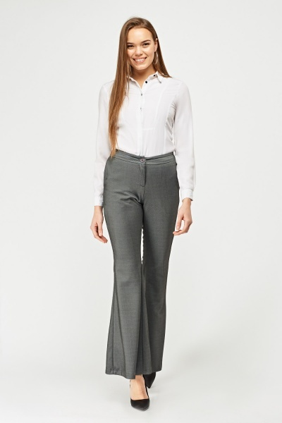 Susan Zheng Flared Tailored Trousers