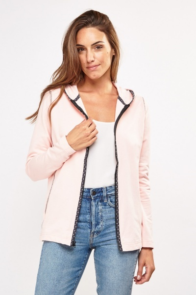 Zip Up Hooded Jacket