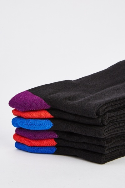 6 Pairs Of Mens Socks