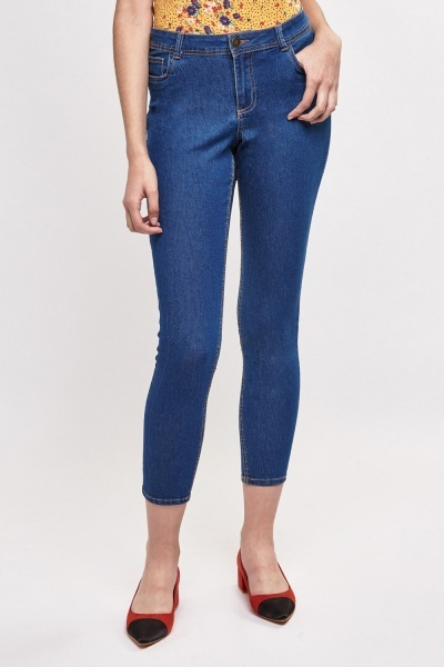 Slim In Extenso Ankle Jeans