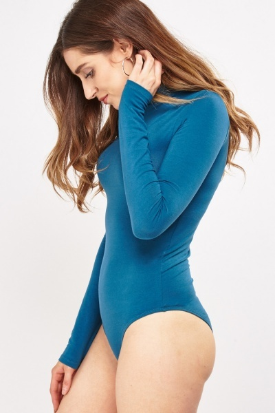 Basic Roll Neck Bodysuit
