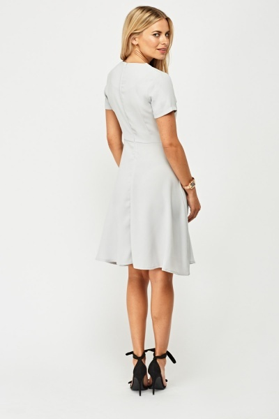 Short Sleeve Swing Dress