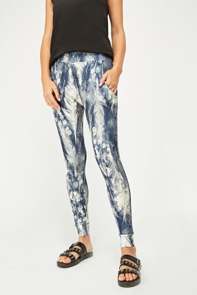 Printed Casual Trousers