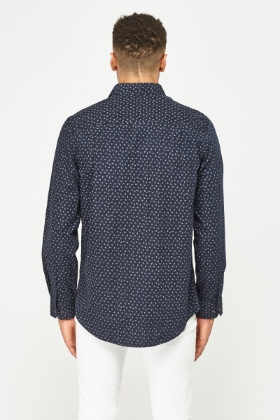 Paisley Print Regular Fit Shirt