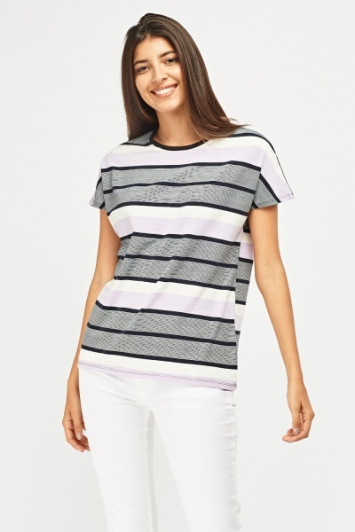 Mixed Stripe T-Shirt