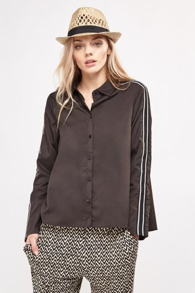 Striped Side Trim Shirt