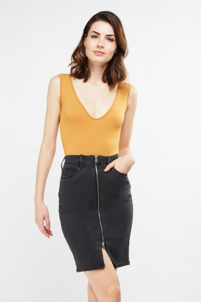 Basic Scoop Neck Bodysuit