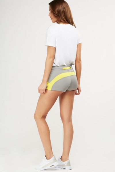 Colour Block Hotpants