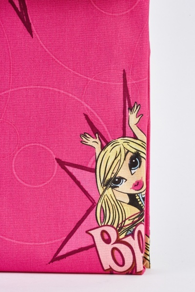 Bratz One Pair Ready Made Curtains