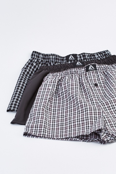 Pack Of 3 Mens Boxers