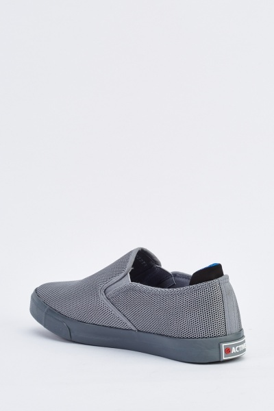 Perforated Slip-On Mens Shoes